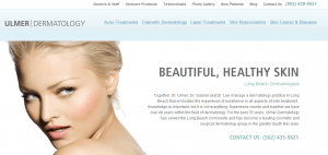 Dermatology marketing