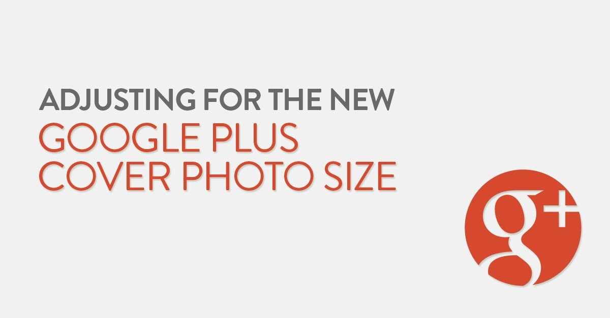 Adjusting for the new Google Plus cover photo size