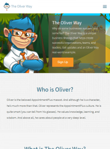 The Oliver Way tablet