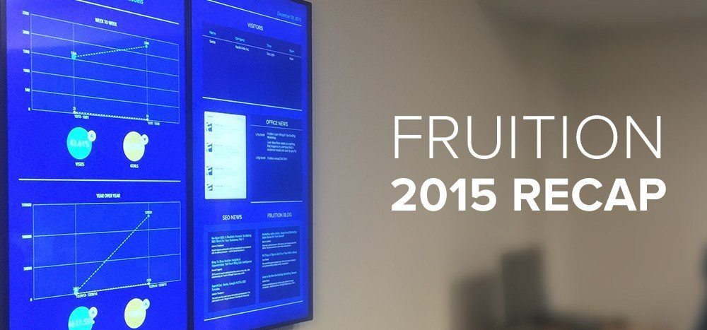 Fruition Introduces New Tools, Earns Awards in 2015