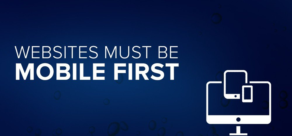 Websites Must be Mobile First