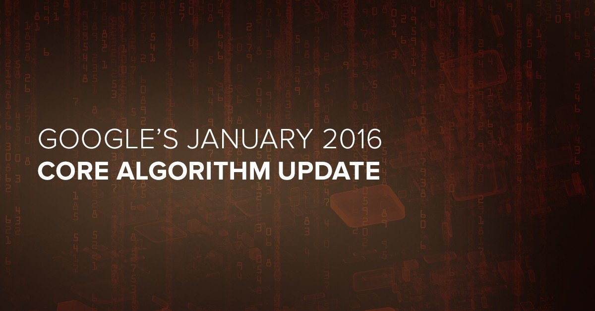 Google's Core Algorithm Update