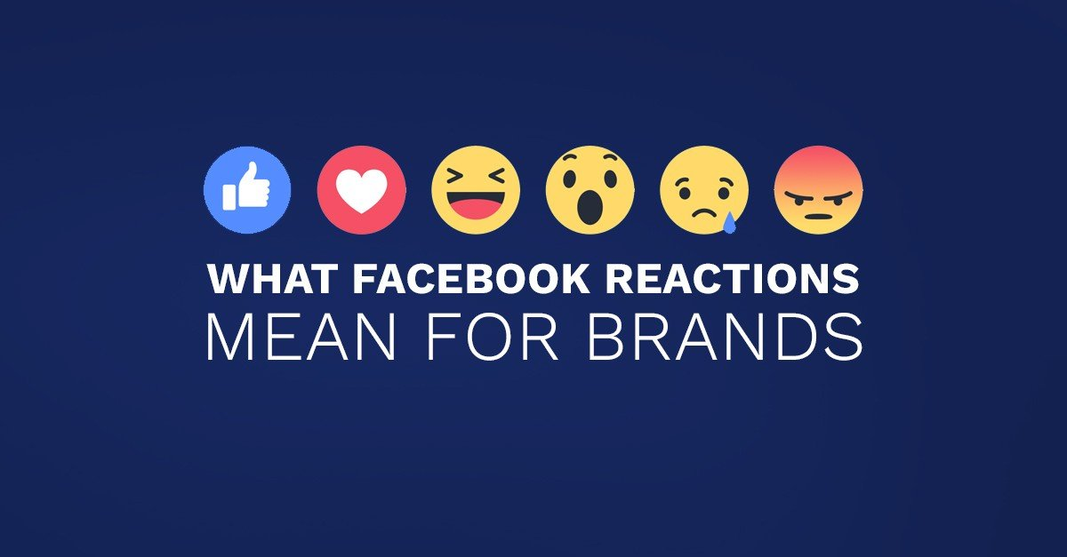 What Facebook Reactions Mean for Brands