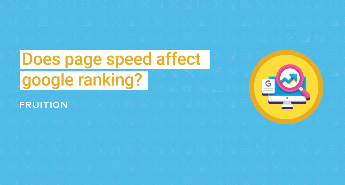 does page speed affect google rankings