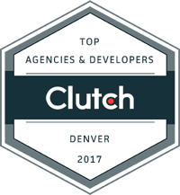 Clutch.co Top Agencies <br>& Developers in Denver <br>2017