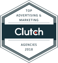 Clutch.co Top Advertising <br>& Marketing Agencies <br>2018