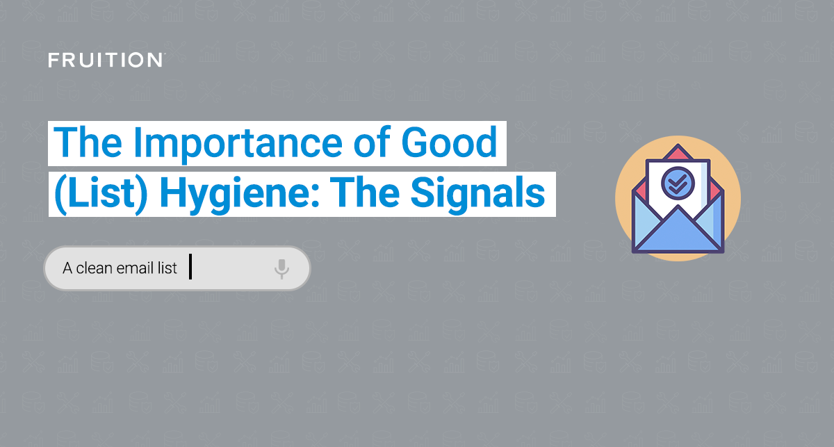 The Importance of Good (List) Hygiene: The Signals