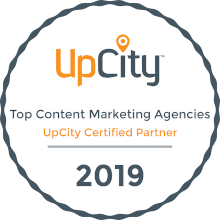 up city content marketing award 2019
