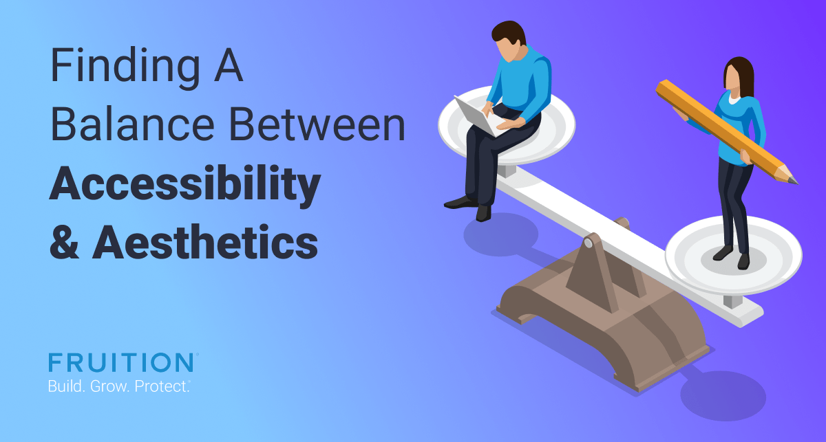 finding a balance between accessibility and aesthetics
